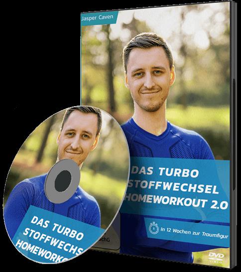Turbo-Stoffwechsel-Homeworkout DVD 2.0 - Jasper Caven